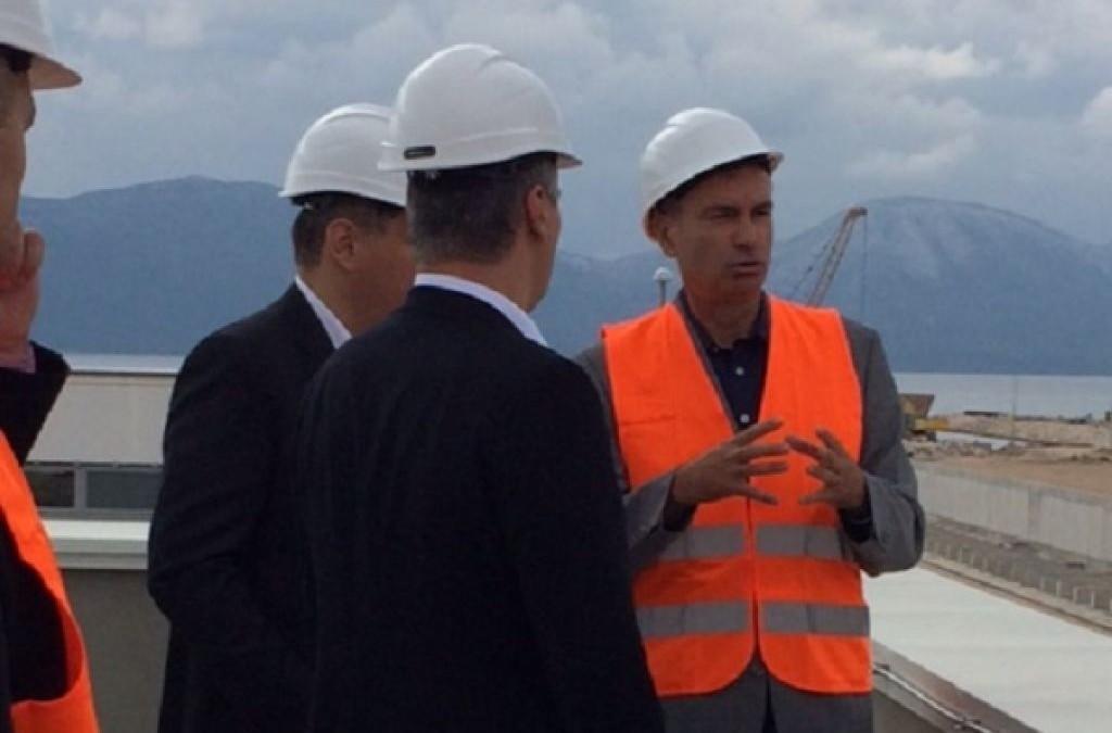 Predsjednik Vlade RH i ministri posjetili luku Ploče
